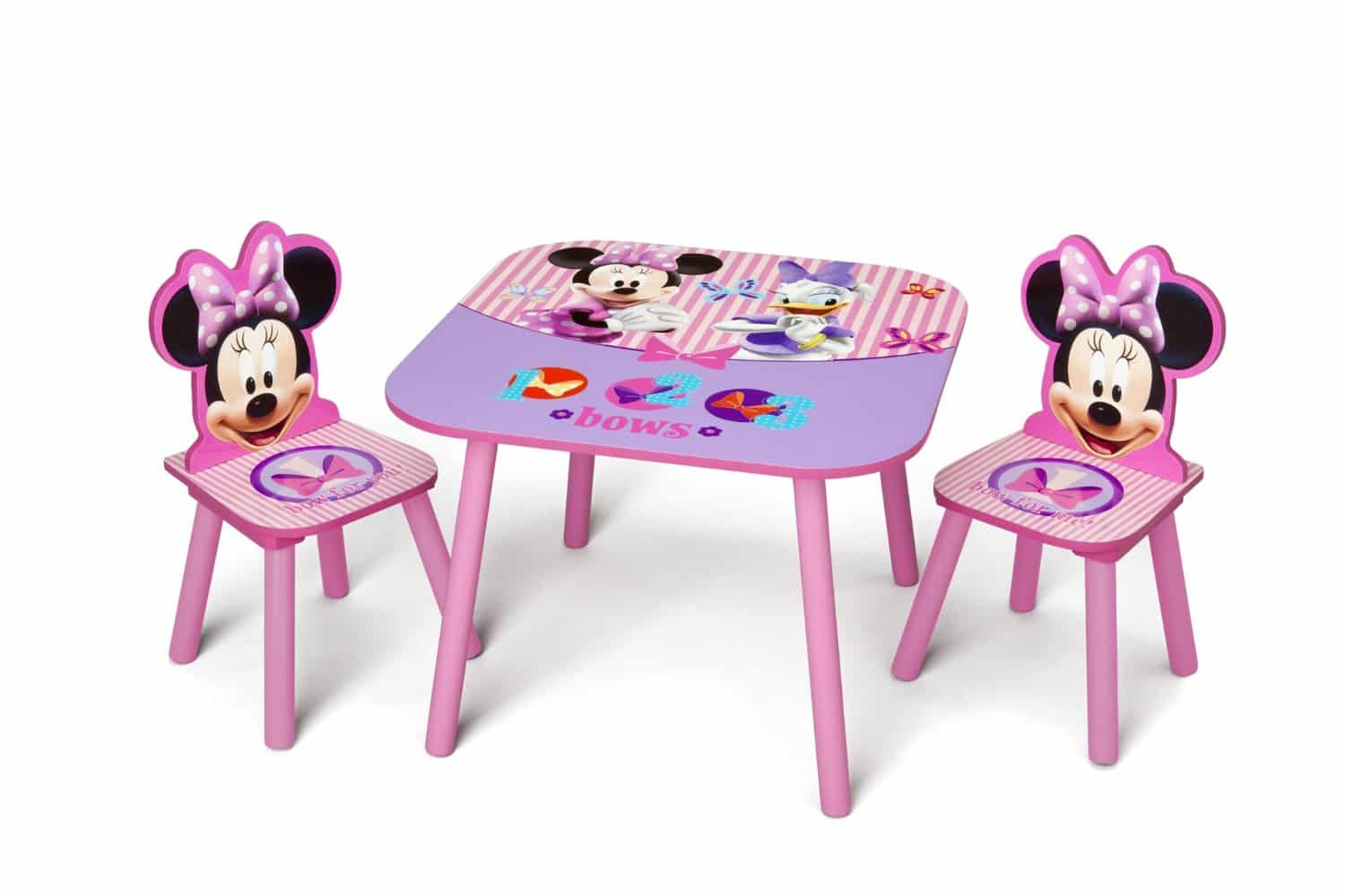 Conjunto Mesa E Cadeiras Minnie Delta Children Table Amp Chair
