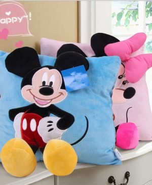 Almofada Mickey/Minnie Decorativa 3D